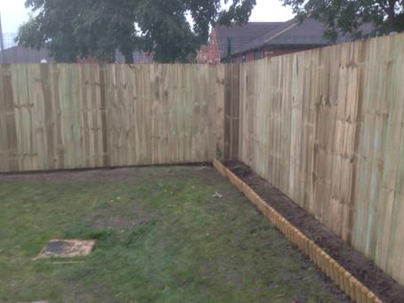 Garden Fencing Services Gateshead - 5 star service!