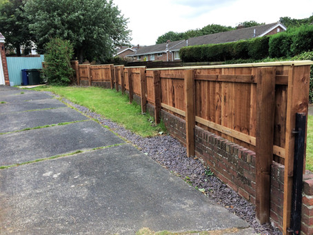 Another stunning fence from Gateshead Fencing