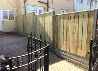 Concrete posts and gravel boards - a stunning look that will last way beyond timber