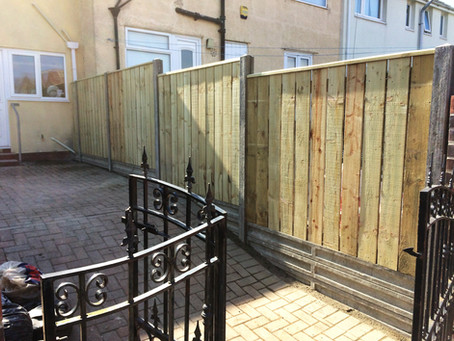 Why not consider upgrading to concrete posts and gravel boards?