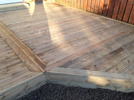 Bespoke Decking in Newcastle upon Tyne