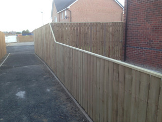 Professional Garden Fencing Services - Newcastle upon Tyne