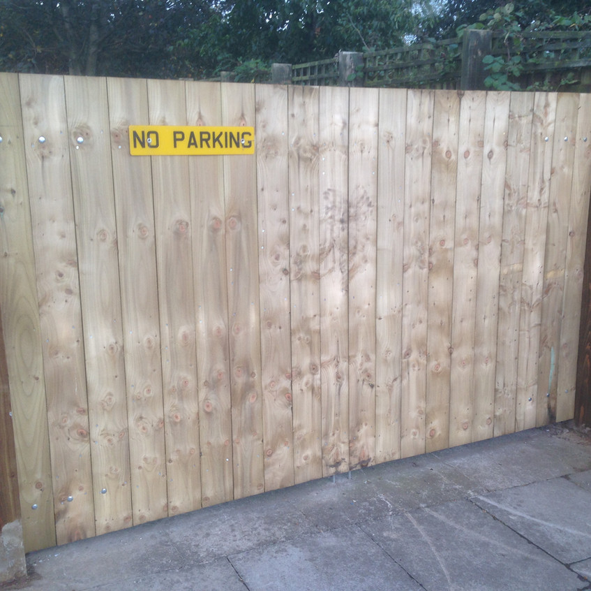 Driveway Gates Made to Measure