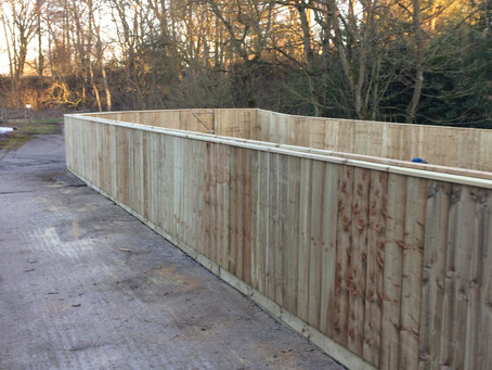 Stunning garden fences from Newcastle Pro Fencing!
