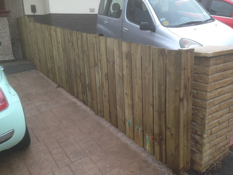 Some of our recent fencing work