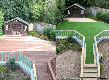 Transform your garden with artificial grass to create the WOW FACTOR!