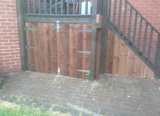 Bespoke garden fencing services in Newcastle upon Tyne