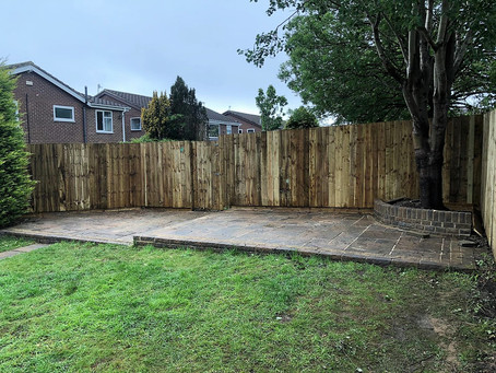 A hard day in the rain but as always we got the job done - Gateshead Pro Fencing