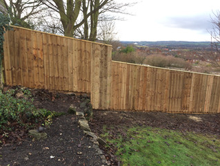 Has your fence been damaged in the wind? No Problem! - We can repair or replace for you