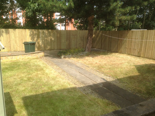 We can transform any garden - garden fencing & landscaping