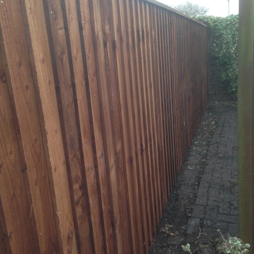 Garden Fencing Services Gateshead