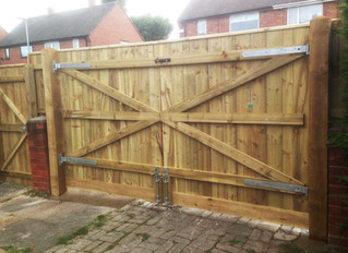 Premium Heavy Duty Driveway Gates - purpose built to spec in Newcastle