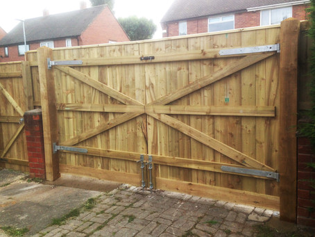 Premium Driveway Gates - Purpose Built on Site