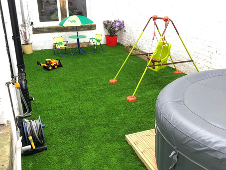 Transform any outside space with artificial grass