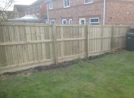 Garden Fencing Services Newcastle upon Tyne