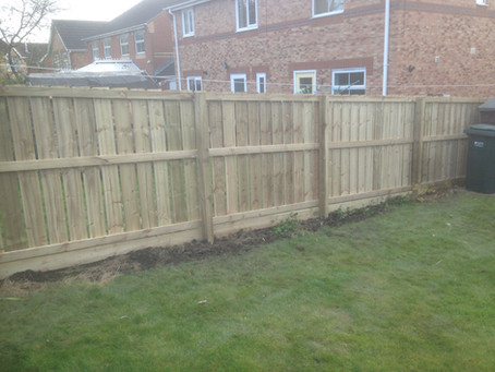 Garden Fencing Services Newcastle upon Tyne