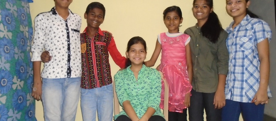 Students flourishing in India