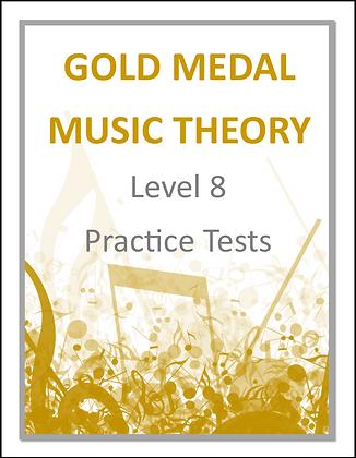 Level 8 Practice Tests - Studio Version