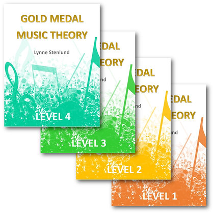 Level 1 - Level 4 Workbooks - Single Use