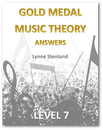 Level 7 Answer Book