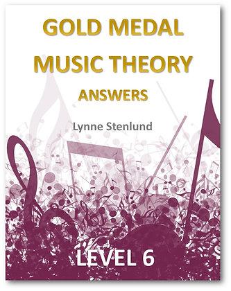 Level 6 Answer Book