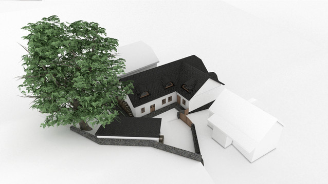 Rodinný dům v podhradí