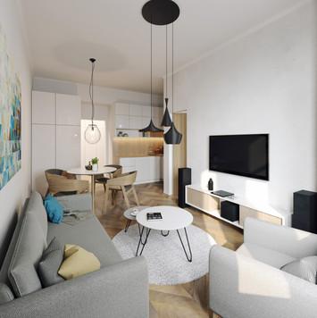 vzorový byt Grafická 14