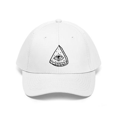 MELLEN SLICE - Twill Hat (WHITE)