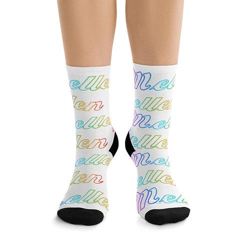 Mellen Socks (white)