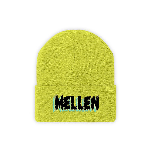 SPOOKY TIMES (YELLOW) - Knit Beanie