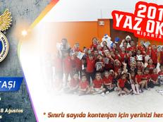 2019 Yaz Cimnastik Okullarımız başlıyor