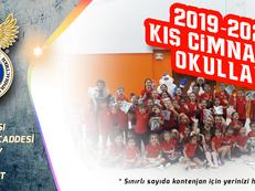 2019-2020 Sezonu Kış Cimnastik Okullarımıza Kayıtlar Başladı