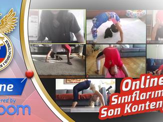 Online Cimnastik Okullarımızda Son Kontenjanlar