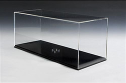display case with base