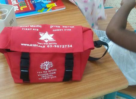 ערכות עזרה ראשונה שמרות על הילדים