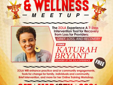 Black Health & Wellness MEET up
