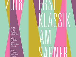 erstKlassik am Sarnersee 2018 - Programm des Kammermusikfestivals