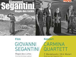 Klingende Bilder - Segantini und Carmina Quartett in Greifensee