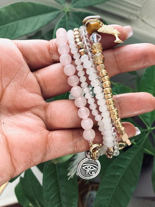 Heal & Thrive Rose Quartz Bracelet