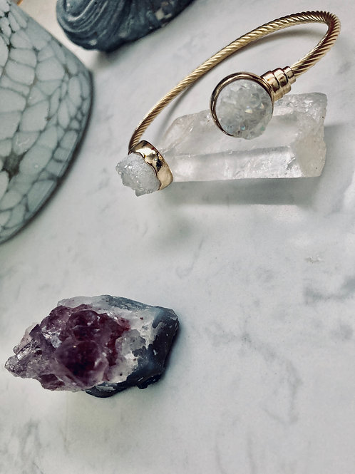 Angel Quartz Bangle