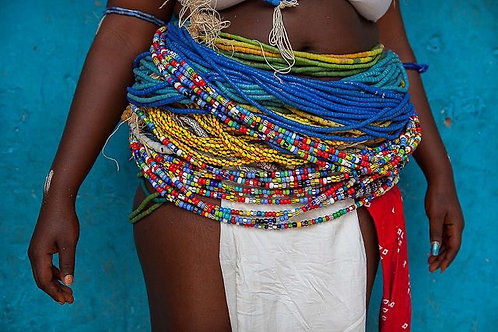 Basic Waistbeads- Up to 3 colors