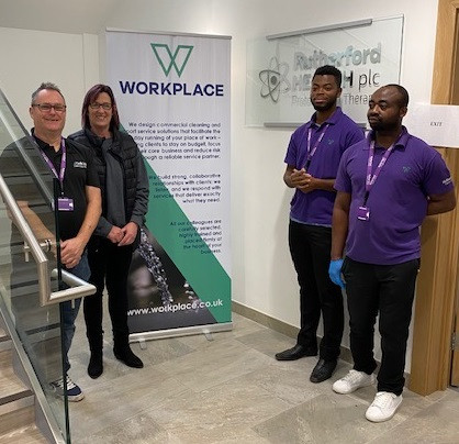 WORKPLACE team at Rutherford Cancer Centre, Thames Valley
