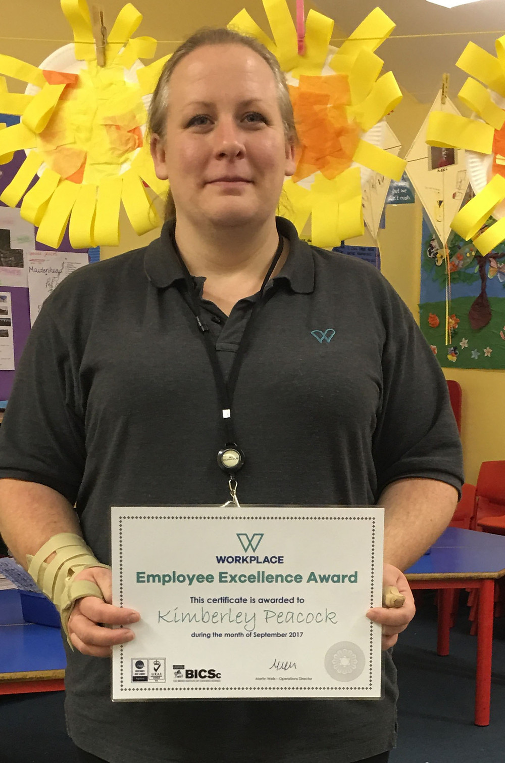 Employee Excellence Award - September 2017