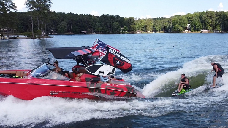 Lake Harding: In partnership with The EOD Warrior Foundation