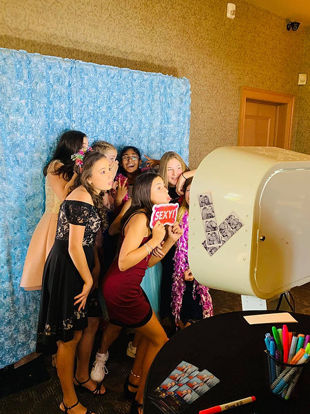 Bat Mitzvah Party Photo Booth