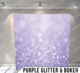 Purple Glitter Bokeh