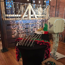 Rustic Holiday Photo Booth Party Rental