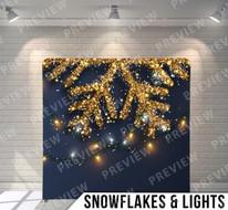 Snowflakes + Lights