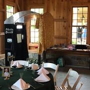 Rustic Wedding Photo Booth Rental