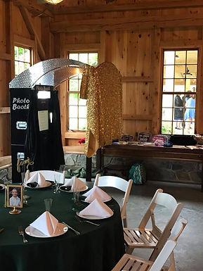 Rustic Wedding Photo Booth